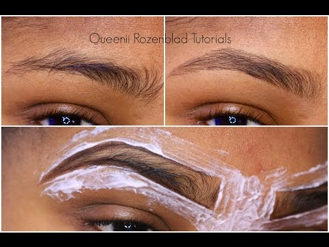 Thumbnail: How I groom my brows at home - Queenii Rozenblad