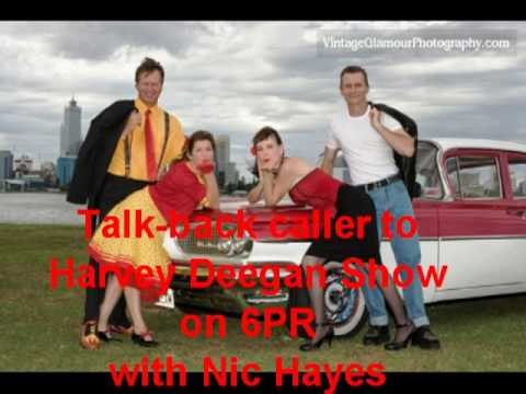 Radio 6PR talk back Rock
