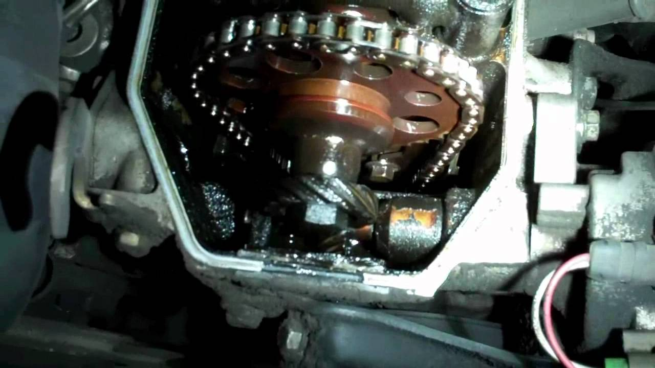 Toyota RAV4 Service Manual: Timing chain