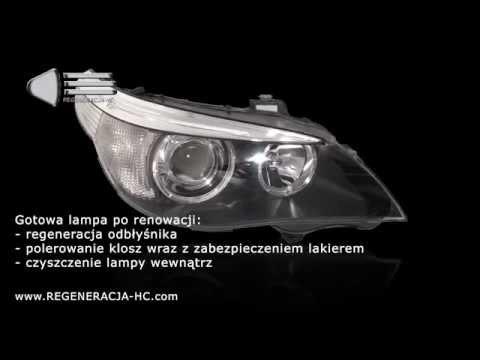 Ogromny BMW 5 e60 e 61 Problem z światłami - regeneracja reflektorów XB68