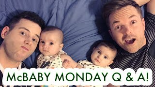 McBaby Monday Live Q & A in Arizona! - TWIN GIRLS & GAY DADS /// McHusbands
