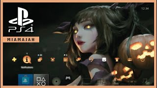 Miss Halloween - Slide N' Go   PS4 (Dynamic Theme) HD