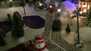 Christmas   village ideas for lighting   display
