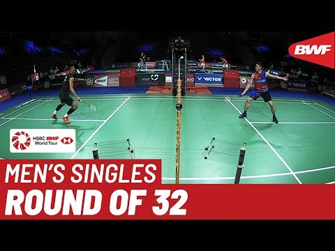 R32 | MS | LEE Zi Jia (MAS) vs. CHEN Long (CHN) | BWF 2019