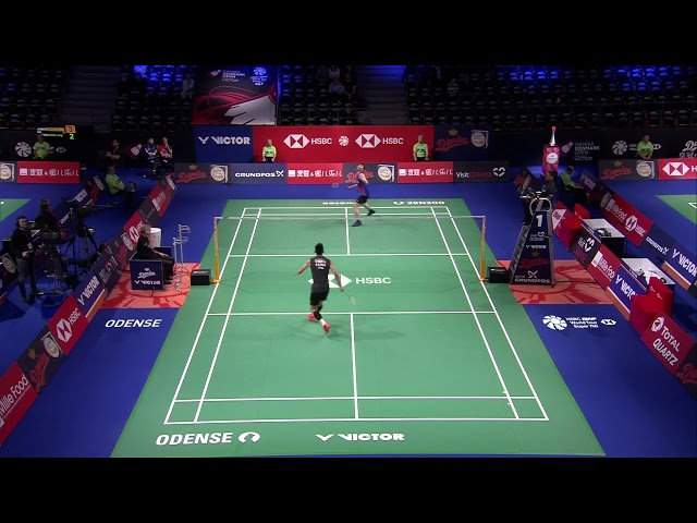 R32 | MS | LEE Zi Jia (MAS) vs. CHEN Long (CHN) | BWF 2019
