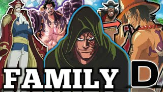 Ranking Family D Members From Weakest To Strongest - One piece chapter 914+