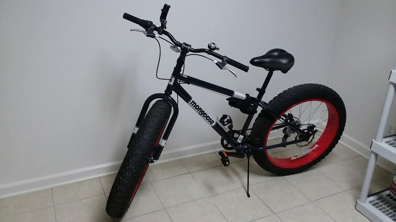 My 50 Pound Fat Tire Bike Youtube