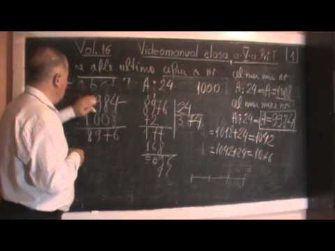 6/10 Lectia 123 - Teorema impartirii cu rest - Exercitii din Manualul de clasa a V-a - gimnaziu