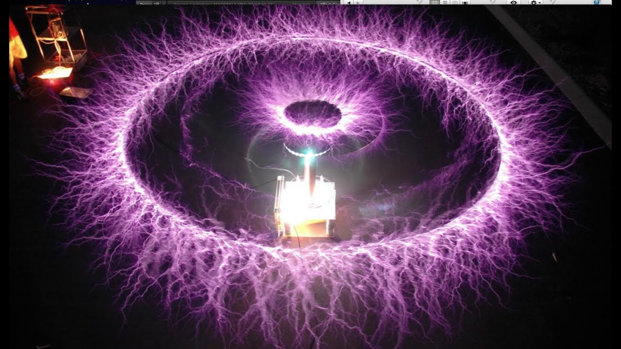 Achieving Levitation With A Tesla Coil Youtube