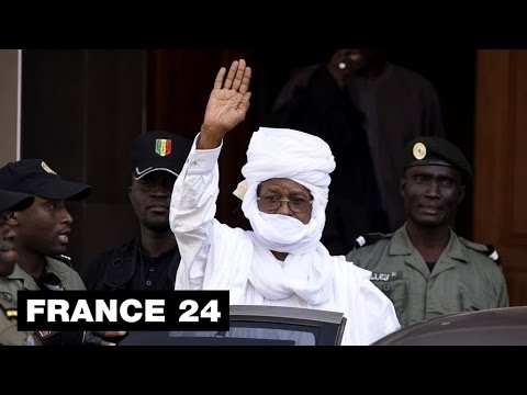 The ruthless dictator Hissene Habre accused of torture and for the death of 40,000 people