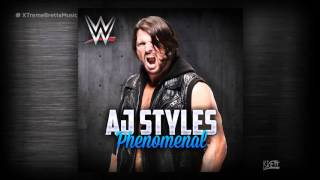"WWE: ""Phenomenal"" [iTunes Release] by CFO$ ► AJ Styles NEW Theme Song"
