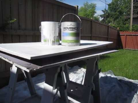 Superieur Review Of Benjamin Moore U0027Advanceu0027 Paint | Kitchen Cabinet Painting