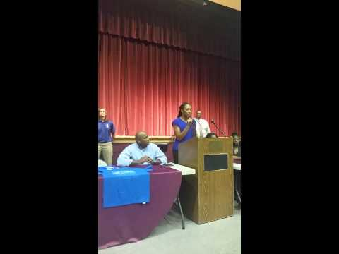 Kyla Evans Pensacola High School Signing Day