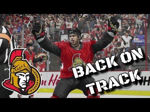 BACK ON TRACK | NHL 18 | Ottawa Senators Be A Pro Ep. 11