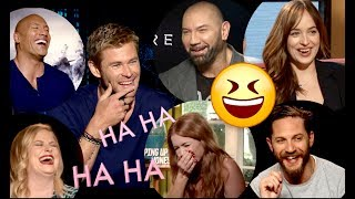 Why These (FUNNY) Stars Have The Bests Laughs In Hollywood...