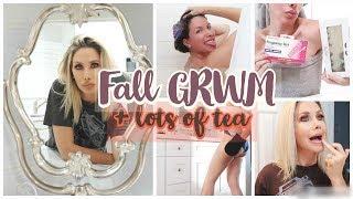 GRWM + LOTS OF TEA | SWEET LORDY PRAY FOR ME