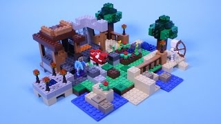 Lego Minecraft 21116 Crafting Box 8 in 1 - Creation #2 Animated Stop Motion Building Instructions