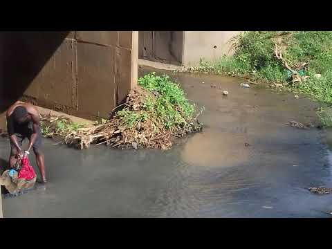 NAKED AFRICAN BOYS WASHING IN A RIVER(subscribe please) thumbnail