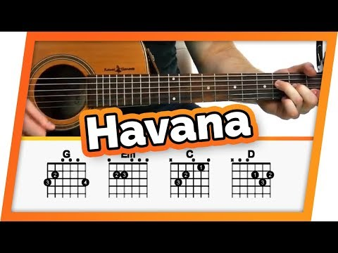 Havana Guitar Tutorial (Camila Cabello) Easy Chords Guitar Lesson