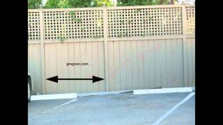 Pre Planning Your Fence Post Layout - Building A Wood Fence