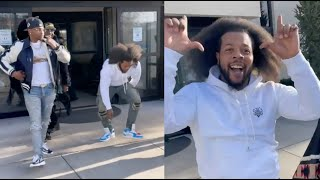 Rowdy Rebel Does The Shmoney Dance After GS9 Members Bless Him With Tons Of Cash After Release