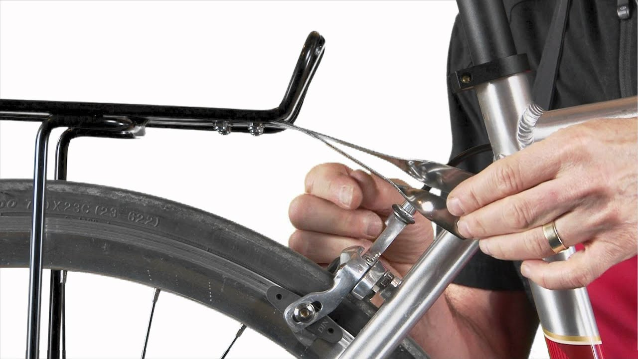 How To Install A Rack On Your Bike Youtube