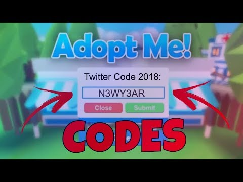 Adopt me *NEW WORKING CODE* (roblox)