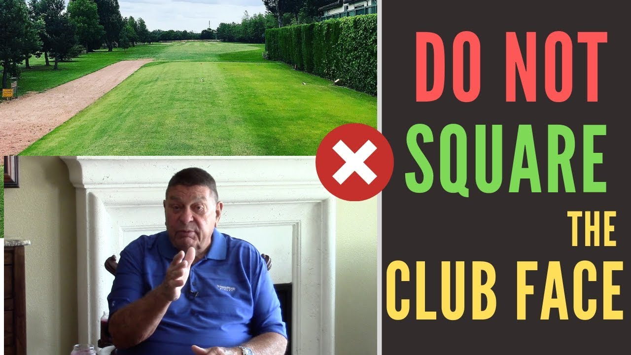 DO NOT Try to Square the Club Face to Hit Straight | Golf with Darrell