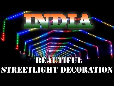 Ganpati Street Lighting LED Decoration - Full HD Ahmednagar Mh India