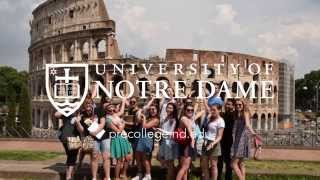 Study Abroad in Rome with the Notre Dame Office of Pre-College Programs