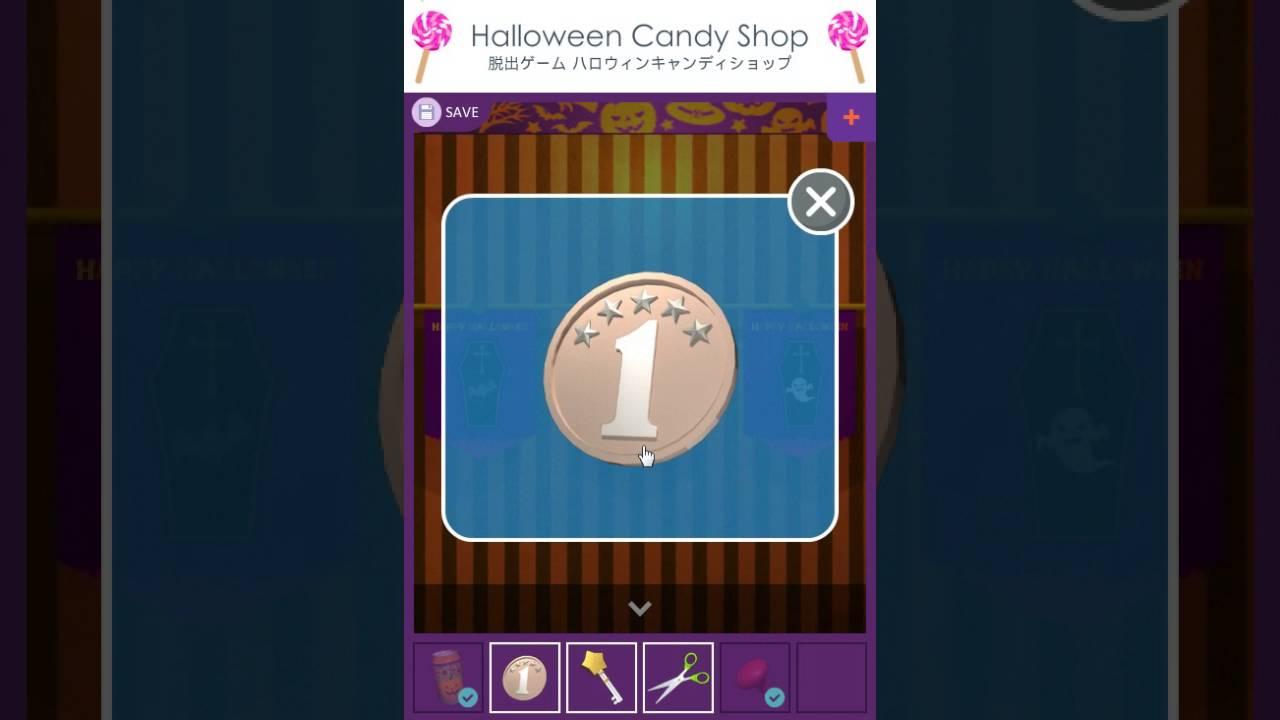 funkyland halloween candy shop escape walkthrough youtube