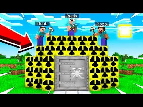 3 NOOBS TRY TO BREAK THE STRONGEST DEFENSE!!