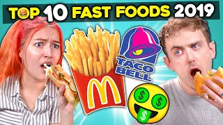 Baixar College Kids React To The Top 10 Richest Fast Food Chains of 2019