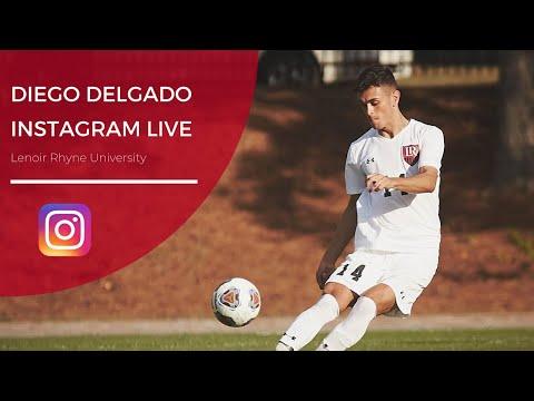 Diego Delgado - Futbolista de Lenoir Rhyne University