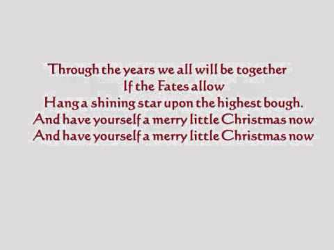 have yourself a merry little christmas megan nicole lyrics - Have Yourself A Merry Little Christmas Lyrics