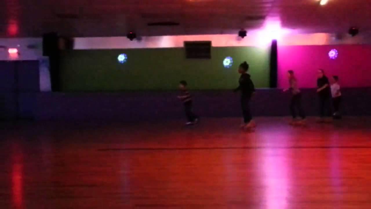 Roller skates light up - My Son With His Light Up Roller Skates