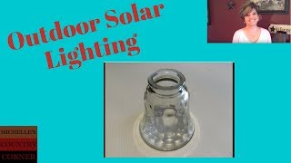 Country Decorating Ideas Outdoor Lighting (Solar Light)