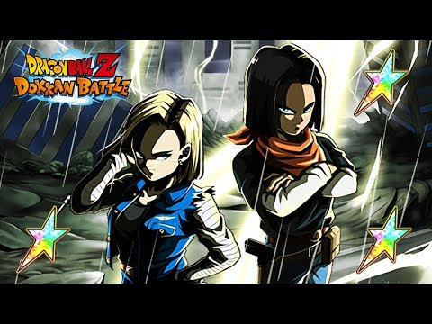A GIANT MISTAKE? 100% RAINBOW STAR LR ANDROID 17 & 18 SHOWCASE! (DBZ: Dokkan Battle)