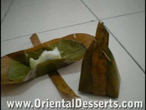 Thai Dessert: Kanum Sod Sai