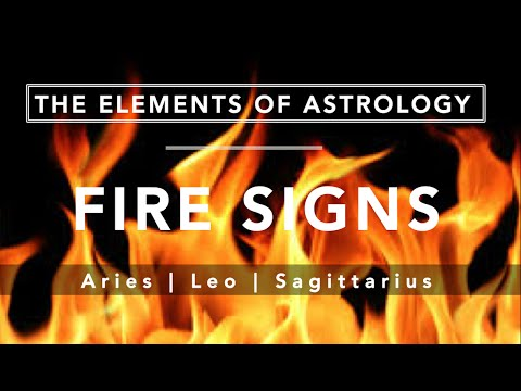 Astro 101: Fire Sign Signs