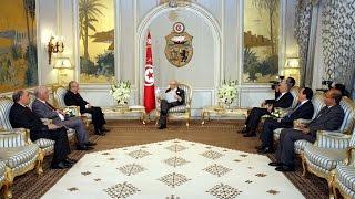رئيس الجمهورية يستقبل وزير الشؤون الخارجية الجزائري رمطان لعمامرة