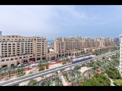 Palm Jumeirah, Shoreline Residence, 4 bedroom Penthouse