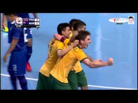 ไฮไลท์ฟุตซอล ไทย 5-3 ออสเตรเลีย [AFF Futsal Championship2015] รอบชิง