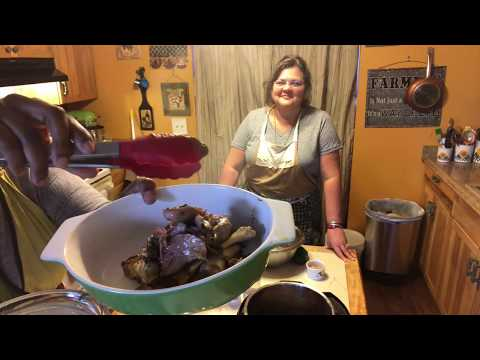Cooking LEG of LAMB and Wishing for a Magic Curtain with Heritage Keeper Tiffany