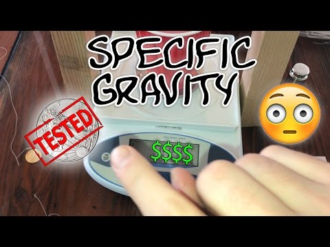 Specific Gravity Test on LCS Silver pickup with INTERESTING Findings!