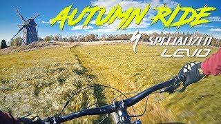 Swedish Autumn on an E-Mountainbike