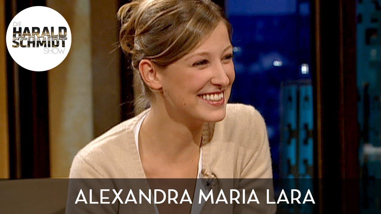 Lyrischer Besuch von Alexandra Maria Lara | Die Harald Schmidt Show (ARD)