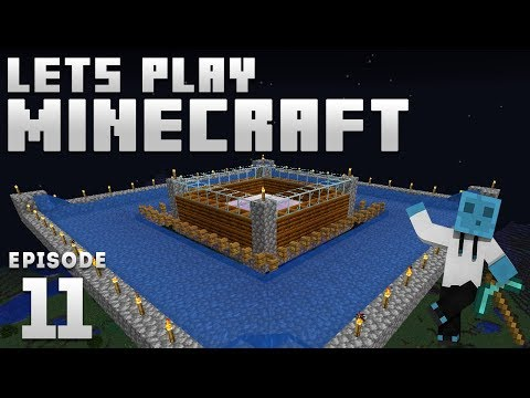 iJevin Plays Minecraft - Ep. 11: IRON GOLEM FARM! (1.14 Minecraft Let's Play)