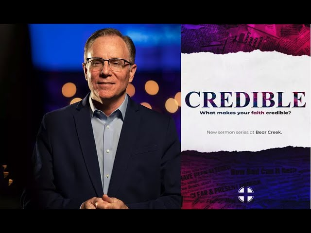 """""""Credible"""": Set an Example in Love & Faithfulness, Pastor David Welch"""