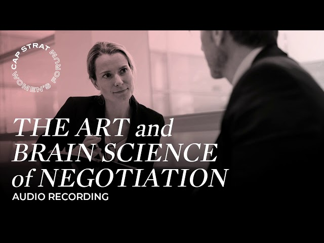 The Art & Brain Science of Negotiation
